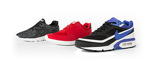 Baskets style running pour homme