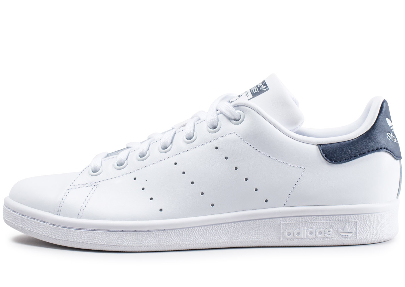 official photos f875a 9c5ea Stan Smith Blanche Et Bleue. adidas