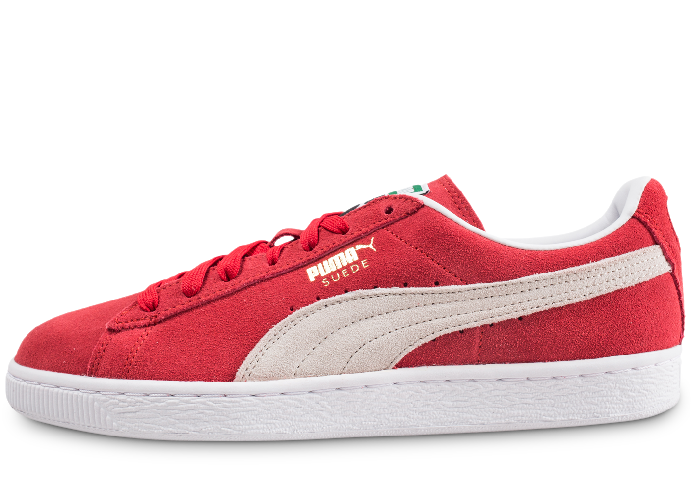 Puma homme suede classic rouge tennis