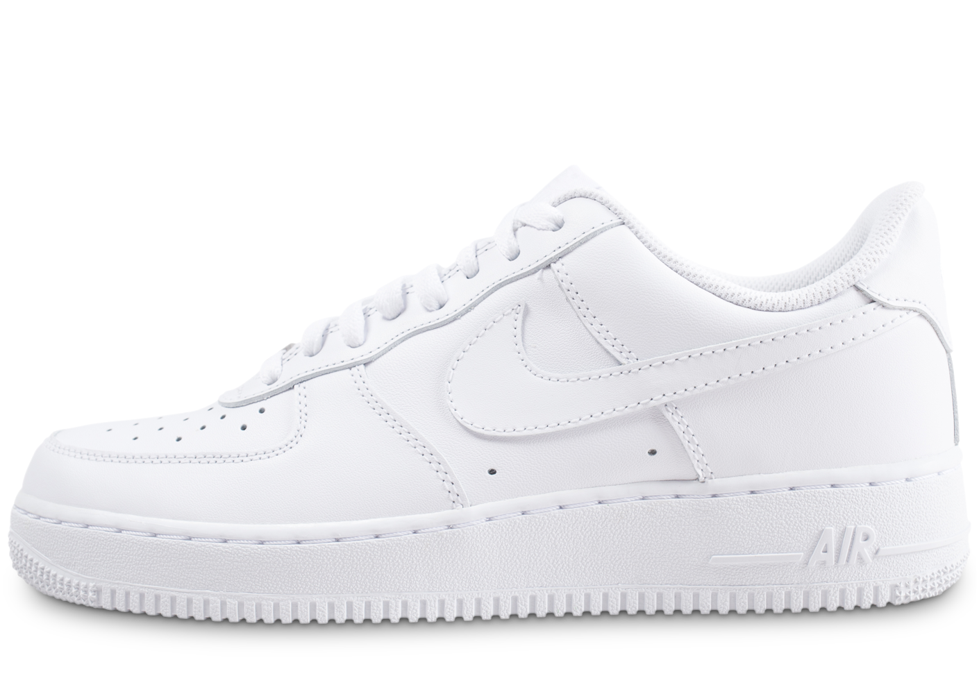 Nike Homme Air Force 1 Blanche Baskets