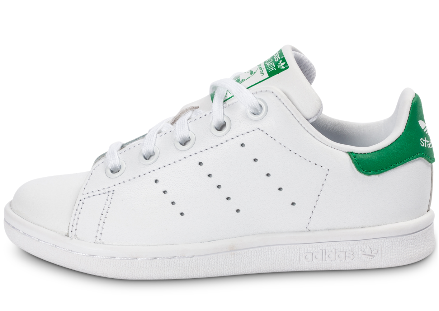 best sneakers 1e53d 35fc5 Product. Voir loffre. 55 · adidas stan smith enfant blanc vert ...