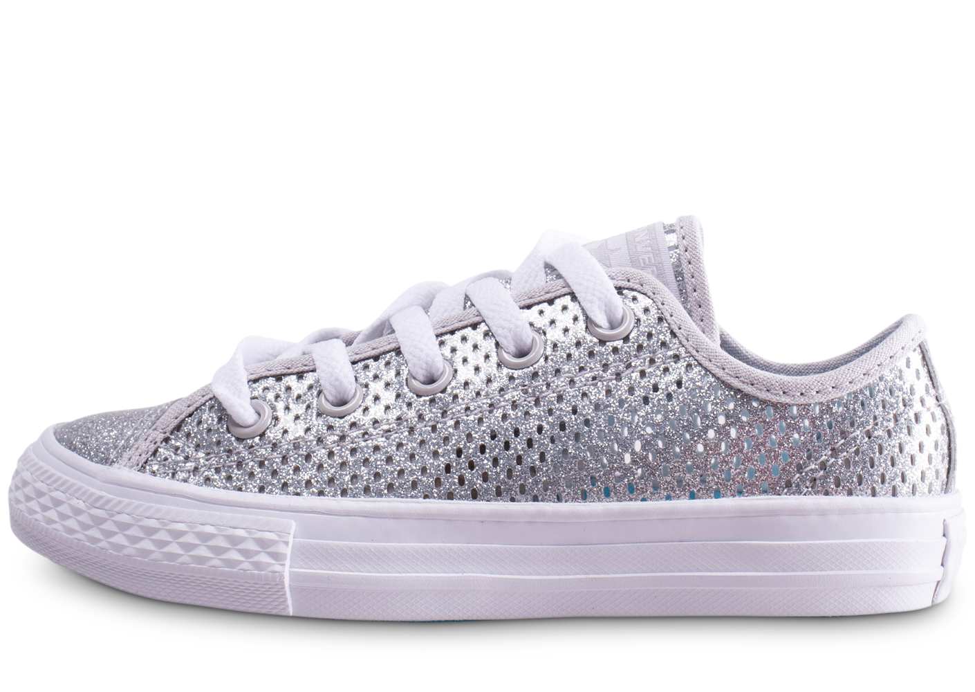 Converse chuck taylor all star low argent...
