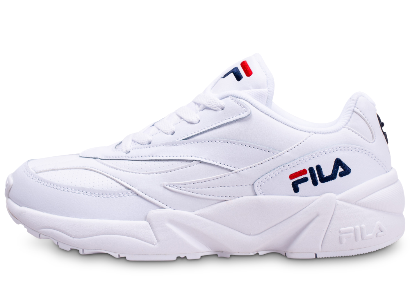 Fila homme v94m low blanche baskets