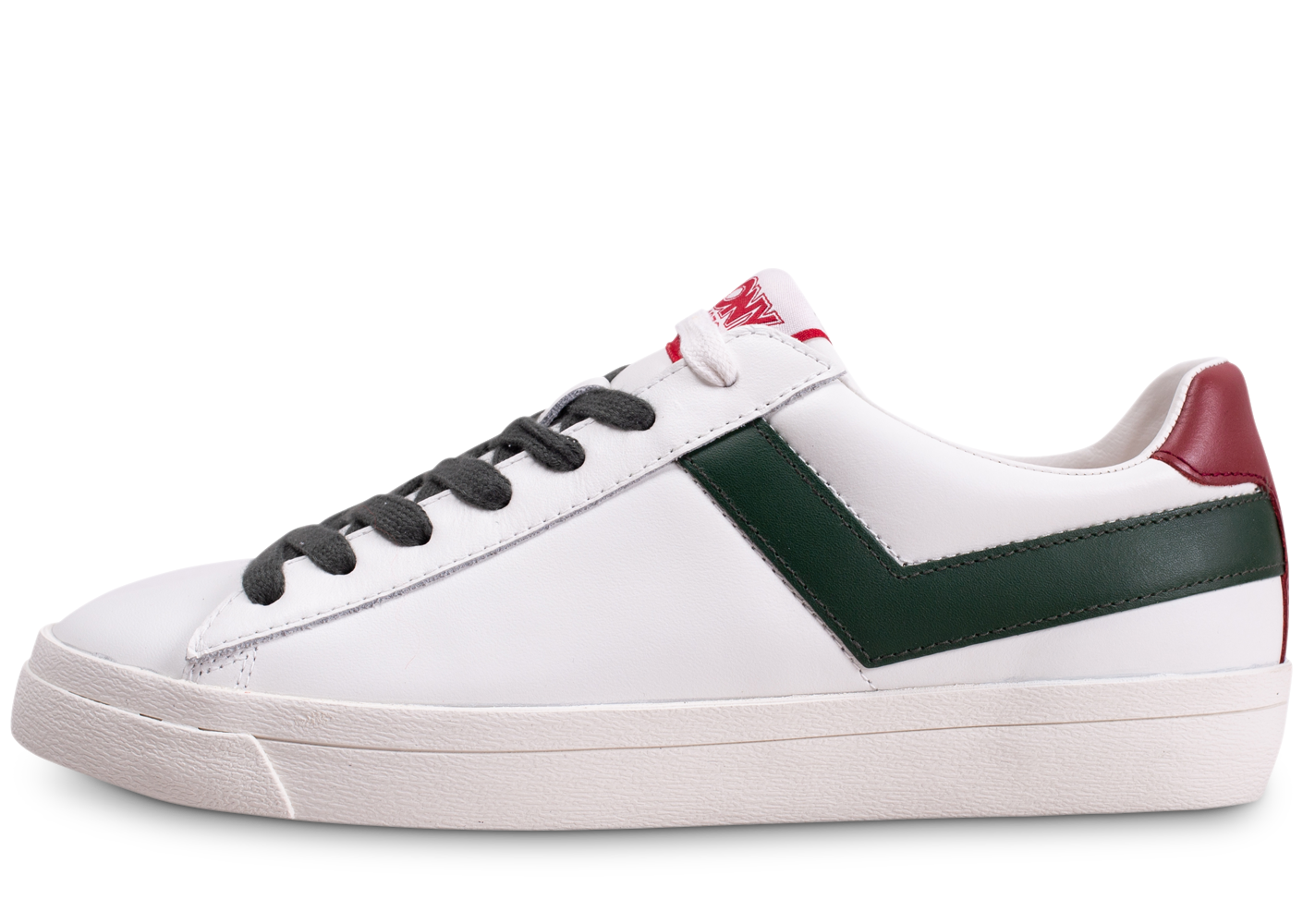 Pony Homme Topstar Blanc Rouge Vert Baskets