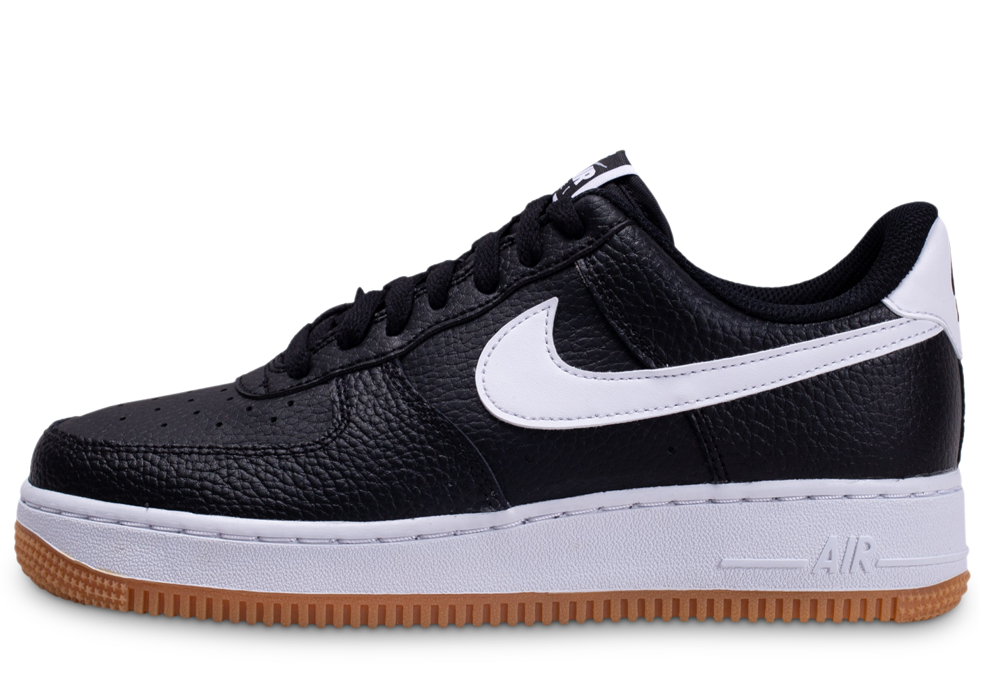 Nike homme air force 1 blanc noir gum baskets
