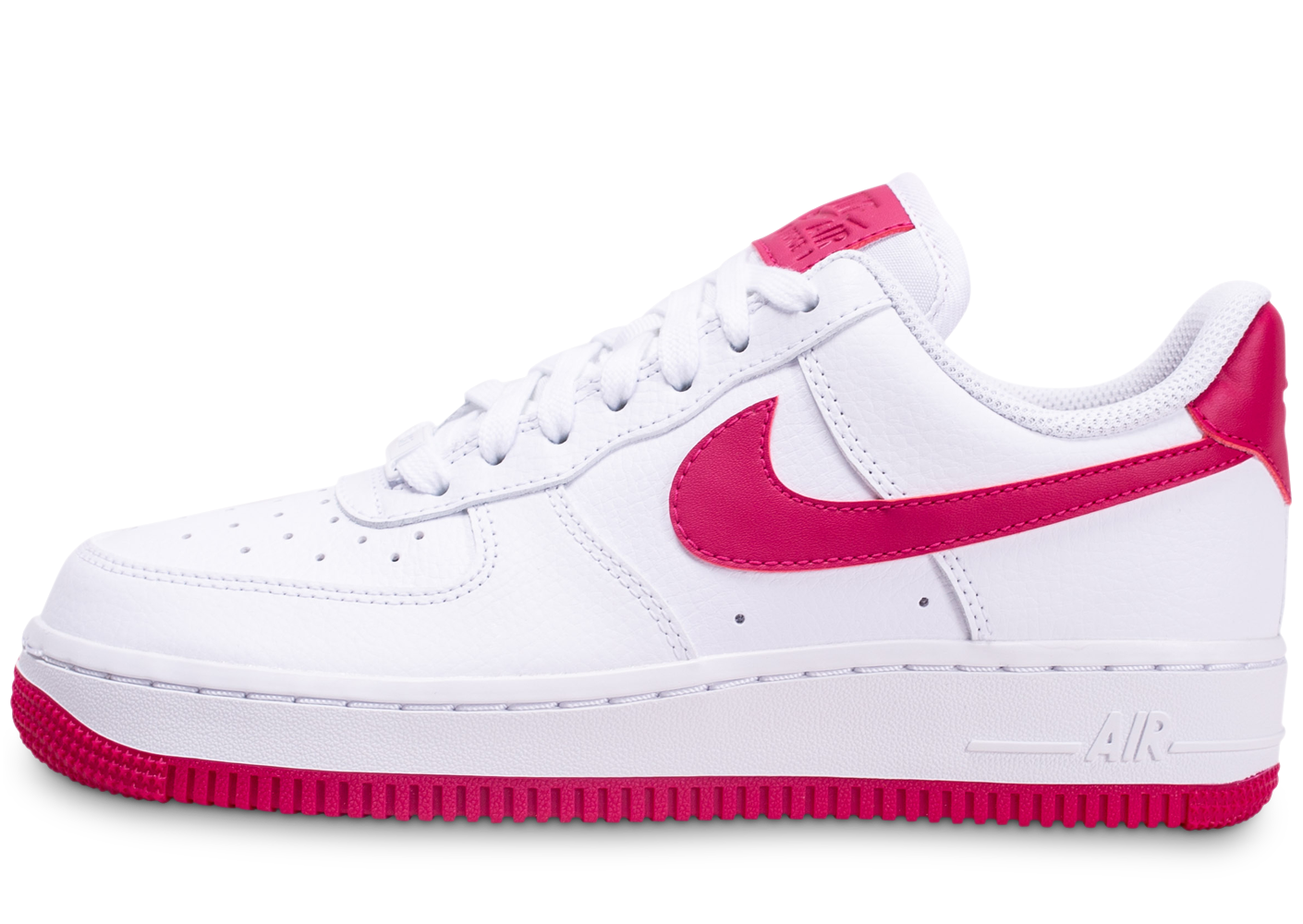 Nike femme air force 1 blanche et rouge baskets