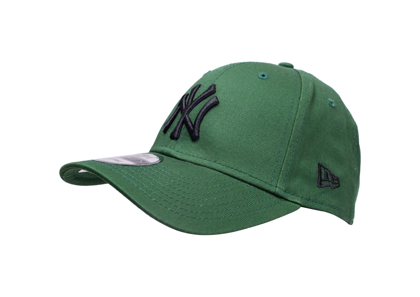 New Era Mixte Casquette 9forty League Essential Verte Et Noire 6 7/8