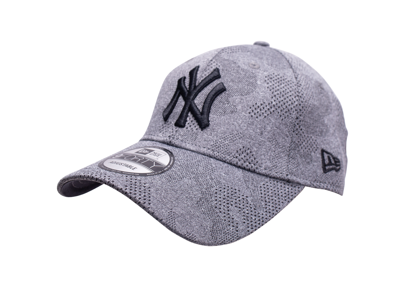 New Era Mixte Casquette 9forty Engineered Plus Grise 6 7/8
