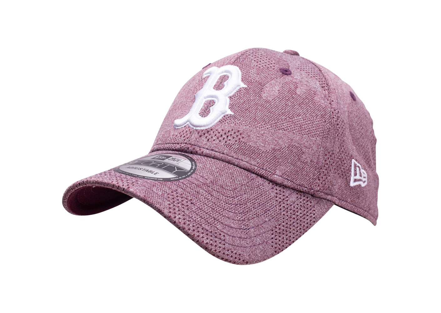 New Era Mixte Casquette 9forty Engineered Plus Bordeaux