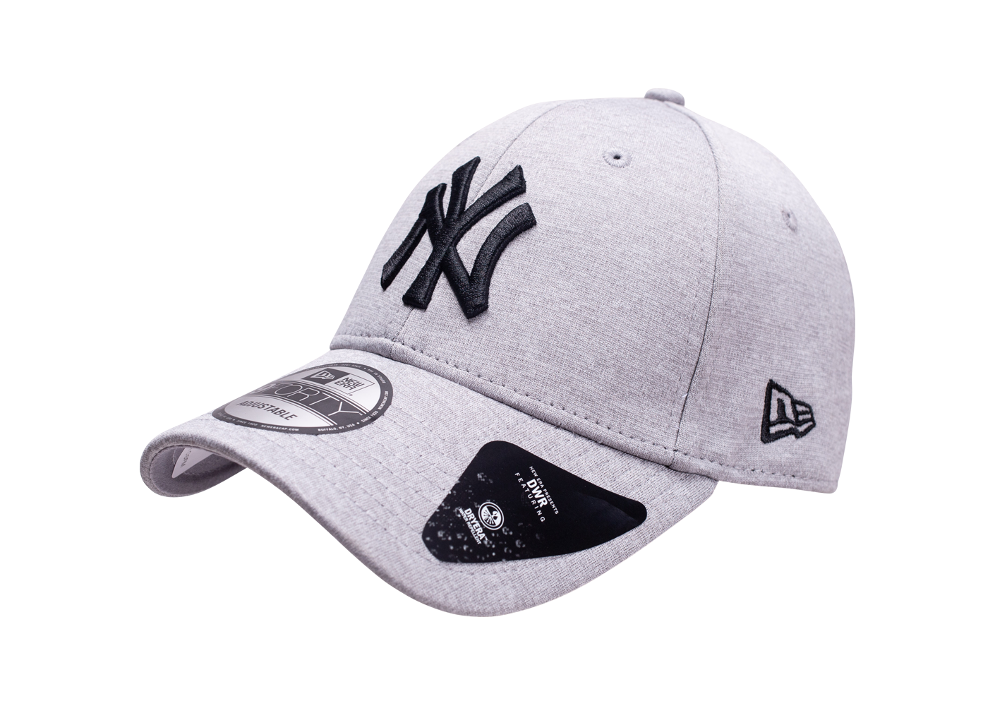 New Era Mixte Casquette 9forty New York Yankees Shadow Tech Grise 6 7/8