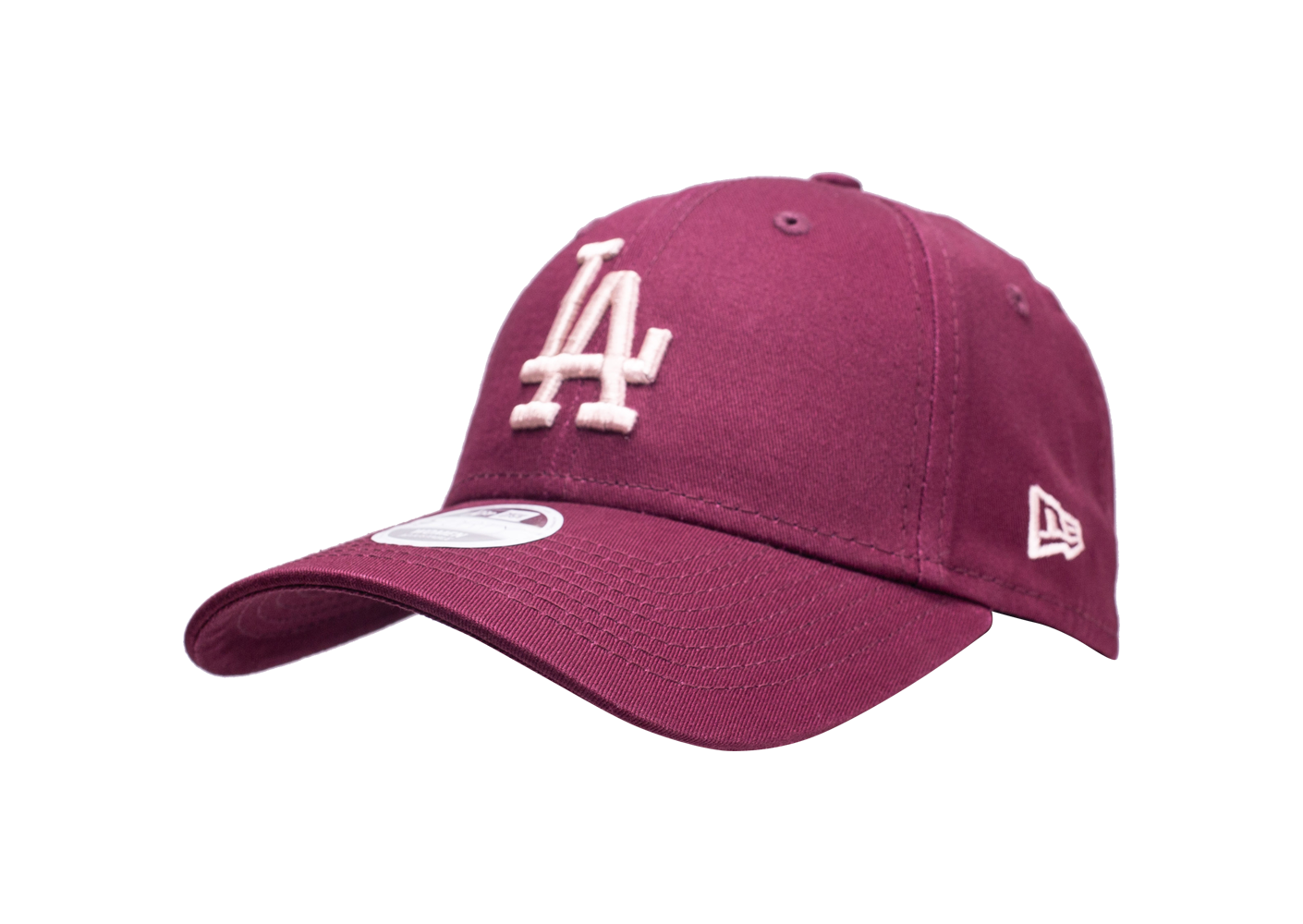 New Era Femme Casquette 9forty League Essential Los Angeles Dodgers Bordeaux