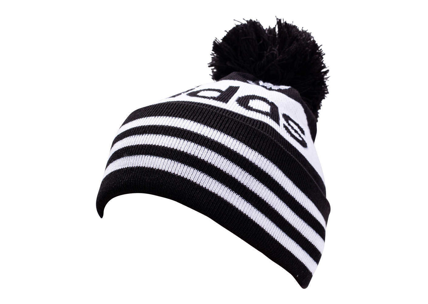 adidas Mixte Bonnet Adicolor Bobble Noir