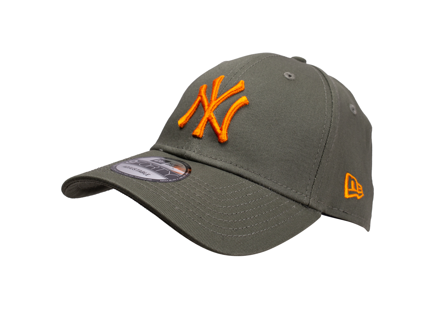 New Era Mixte Casquette Essential 9/40 New York Yankees Kaki Et Orange