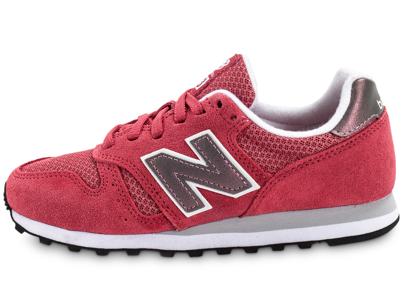 New Balance Wl373 Si Suede Rose Baskets/Running Femme