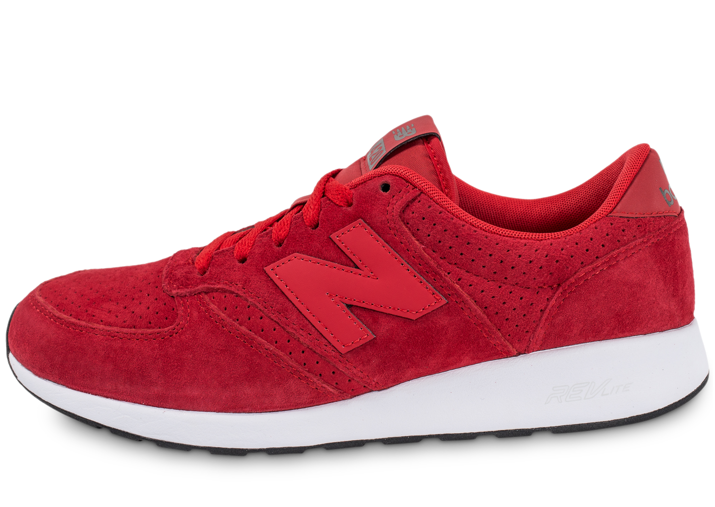 New Balance Mrl420si Re-engineered Suede Rouge Baskets/Running Homme
