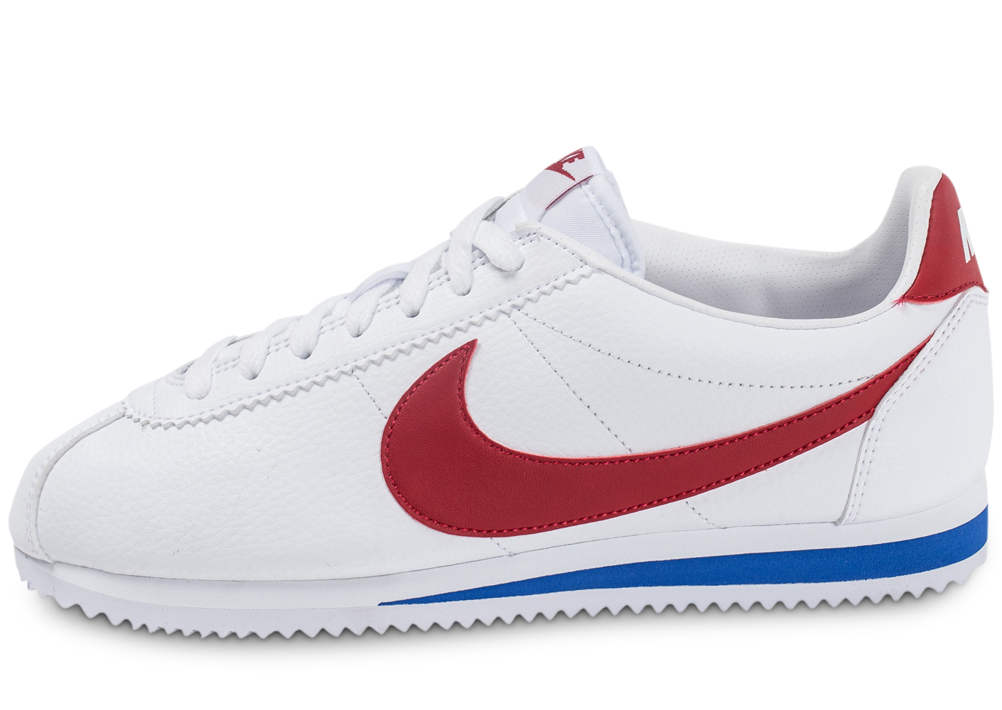 uk availability 07ef4 5c102 Nike homme cortez leather blanche rouge et.