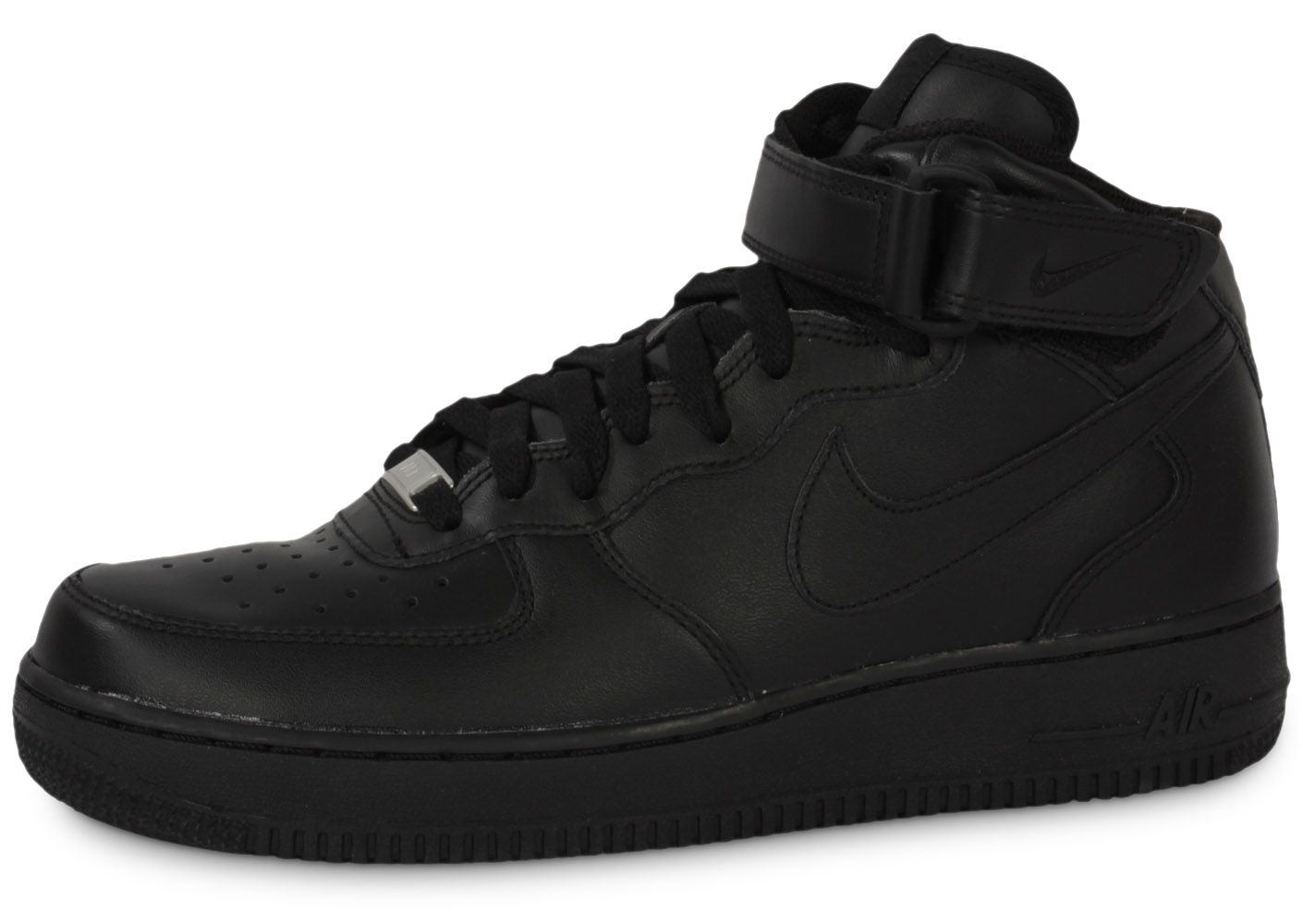 Nike homme air force 1 mid 07 noire baskets