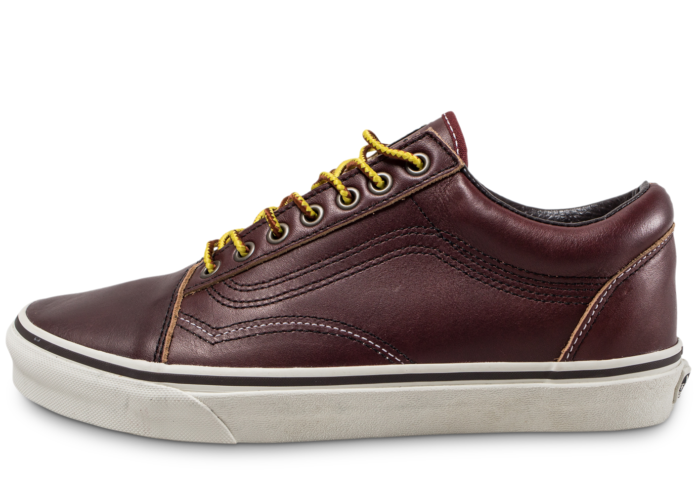 Vans Homme Old Skool Bordeaux Skate