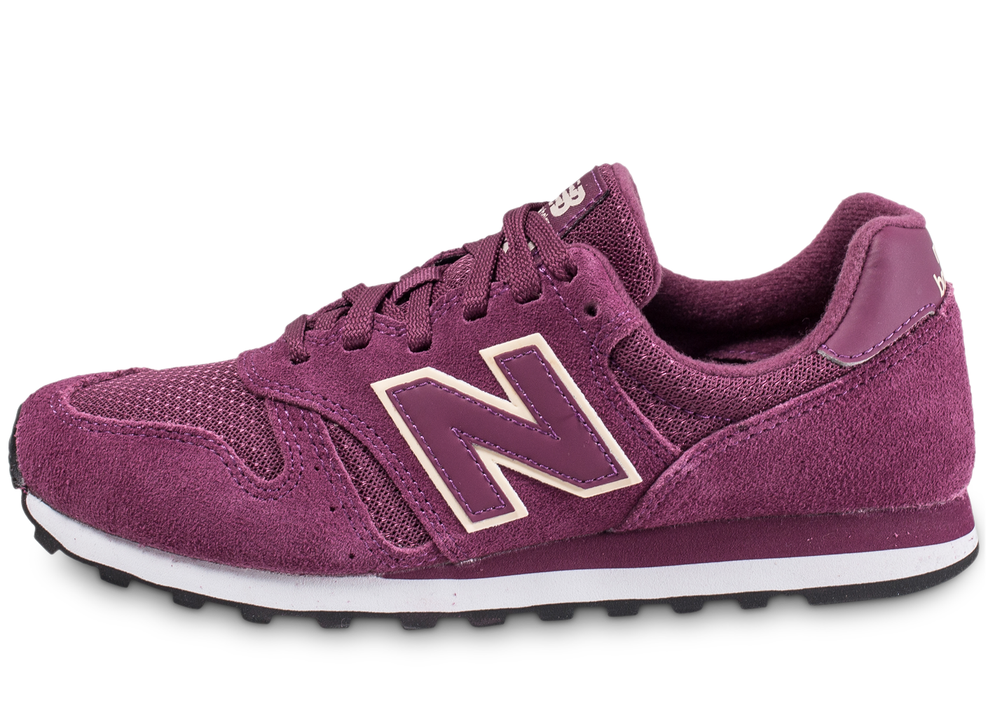 New Balance Wl373 Pur Bordeaux Baskets/Running Femme
