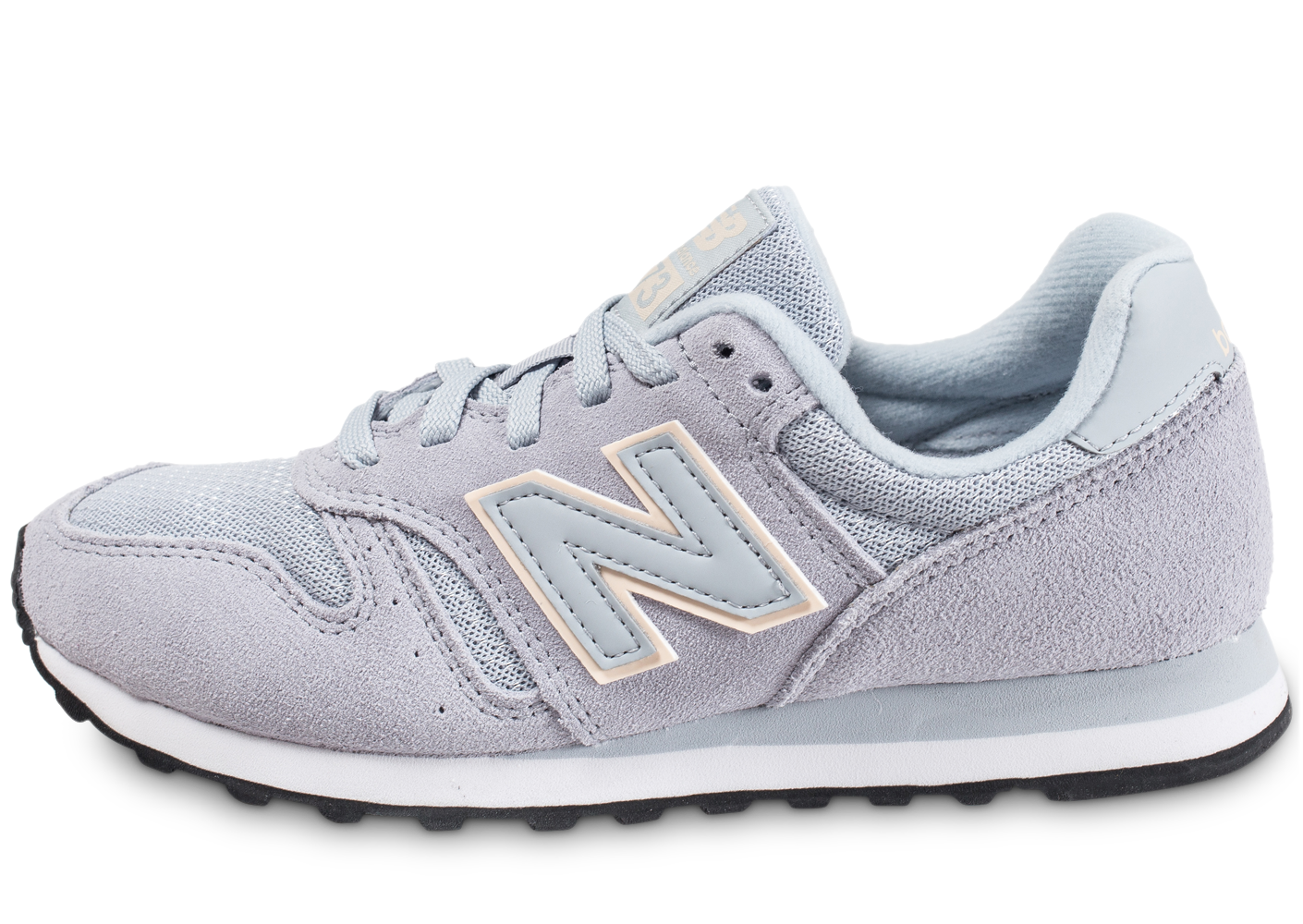 New Balance Wl373 Gry Grise Baskets/Running Femme