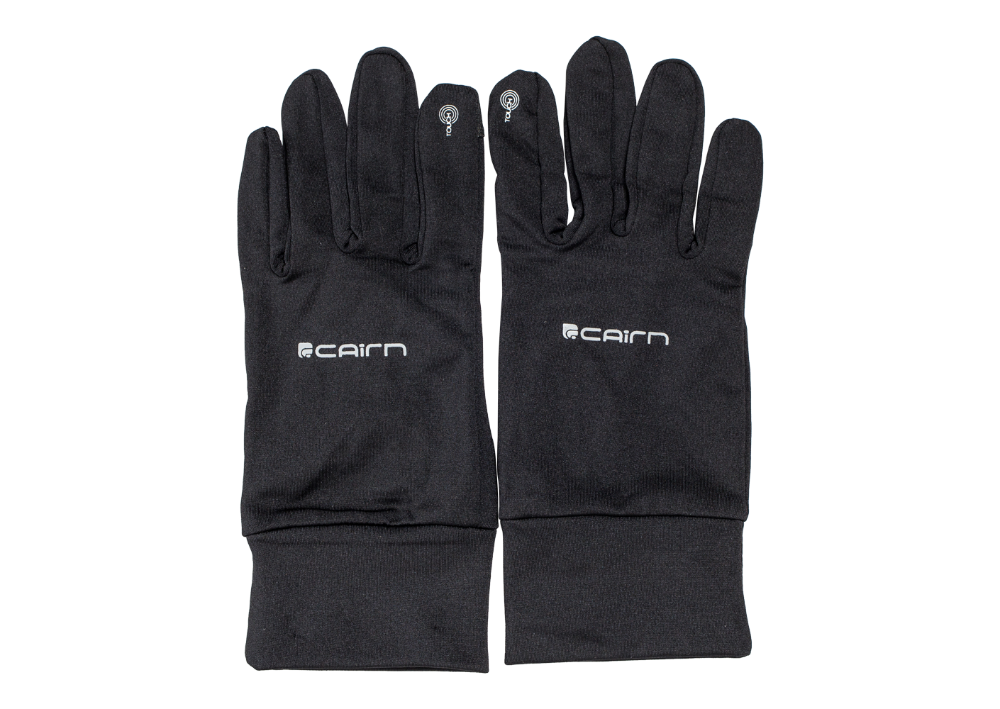 Cairn Homme Gants Softex Tactile Touch Noirs