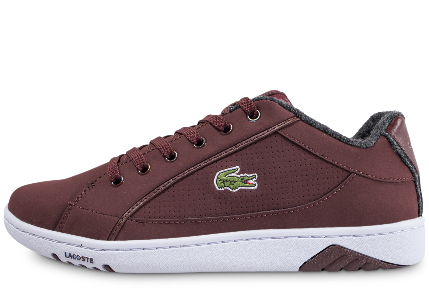 Lacoste Homme Deviation Marron Baskets