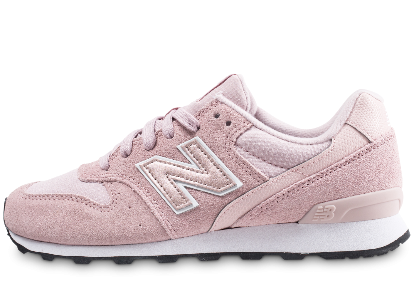 New Balance Femme Wr996mg Rose Baskets