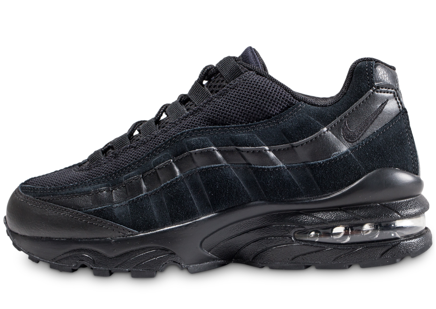 Nike Enfant Air Max 95 Junior Noire Baskets