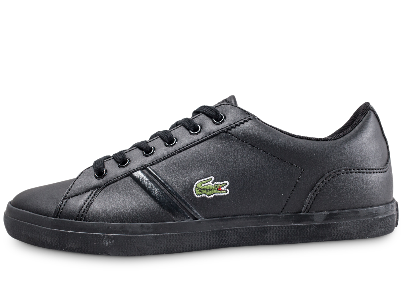Lacoste Enfant Lerond Junior Noir Baskets