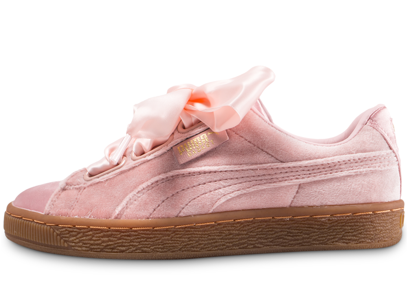 Puma Femme Basket Heart Rose Baskets
