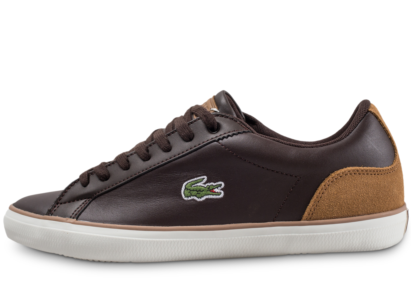 Lacoste Homme Lerond Marron Baskets