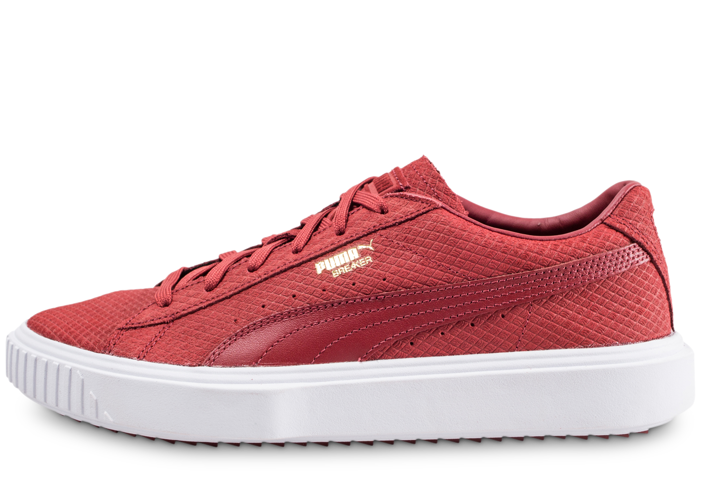 Puma Homme Breaker Rouge Baskets