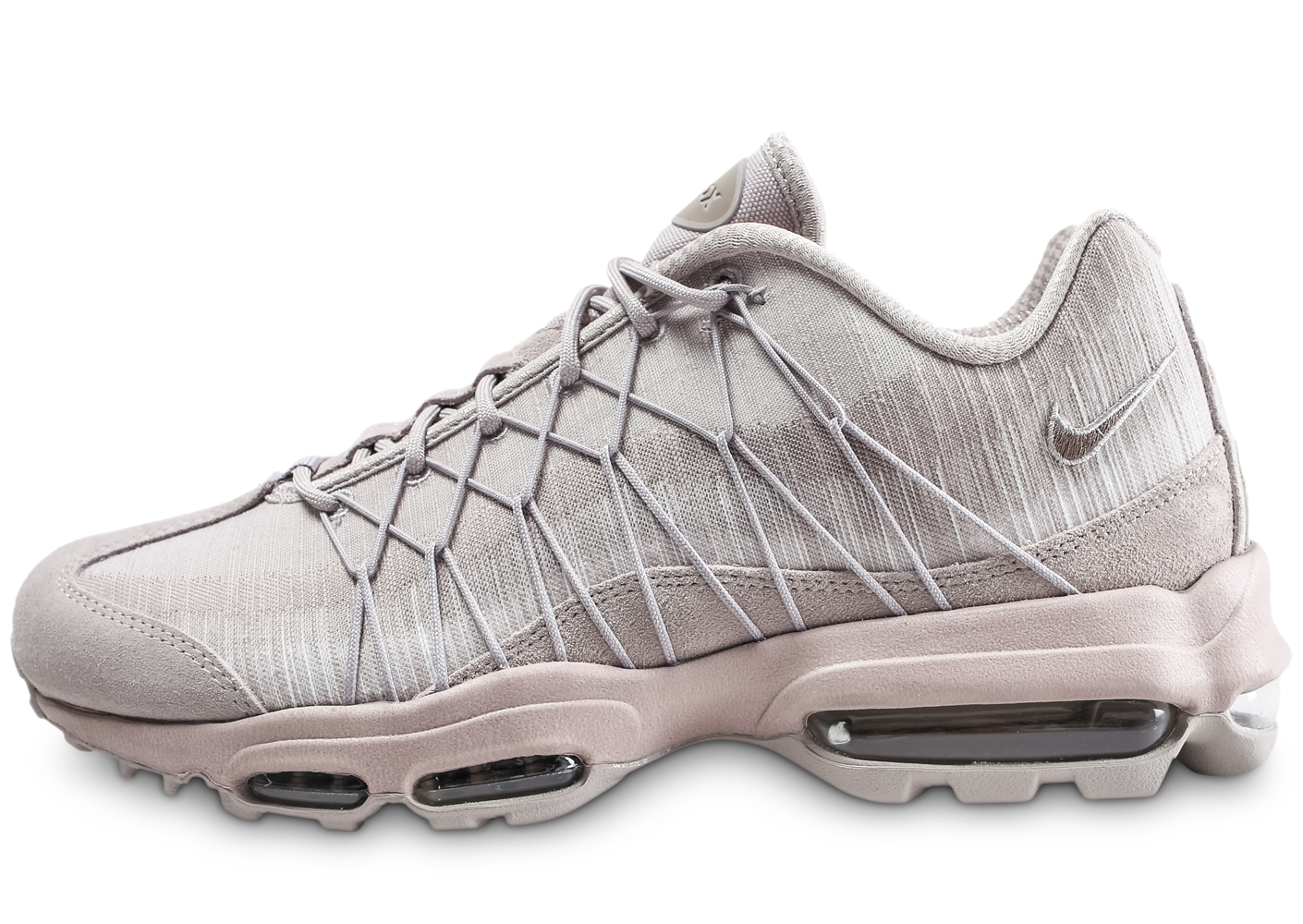 Nike Homme Air Max 95 Ultra Rose Baskets