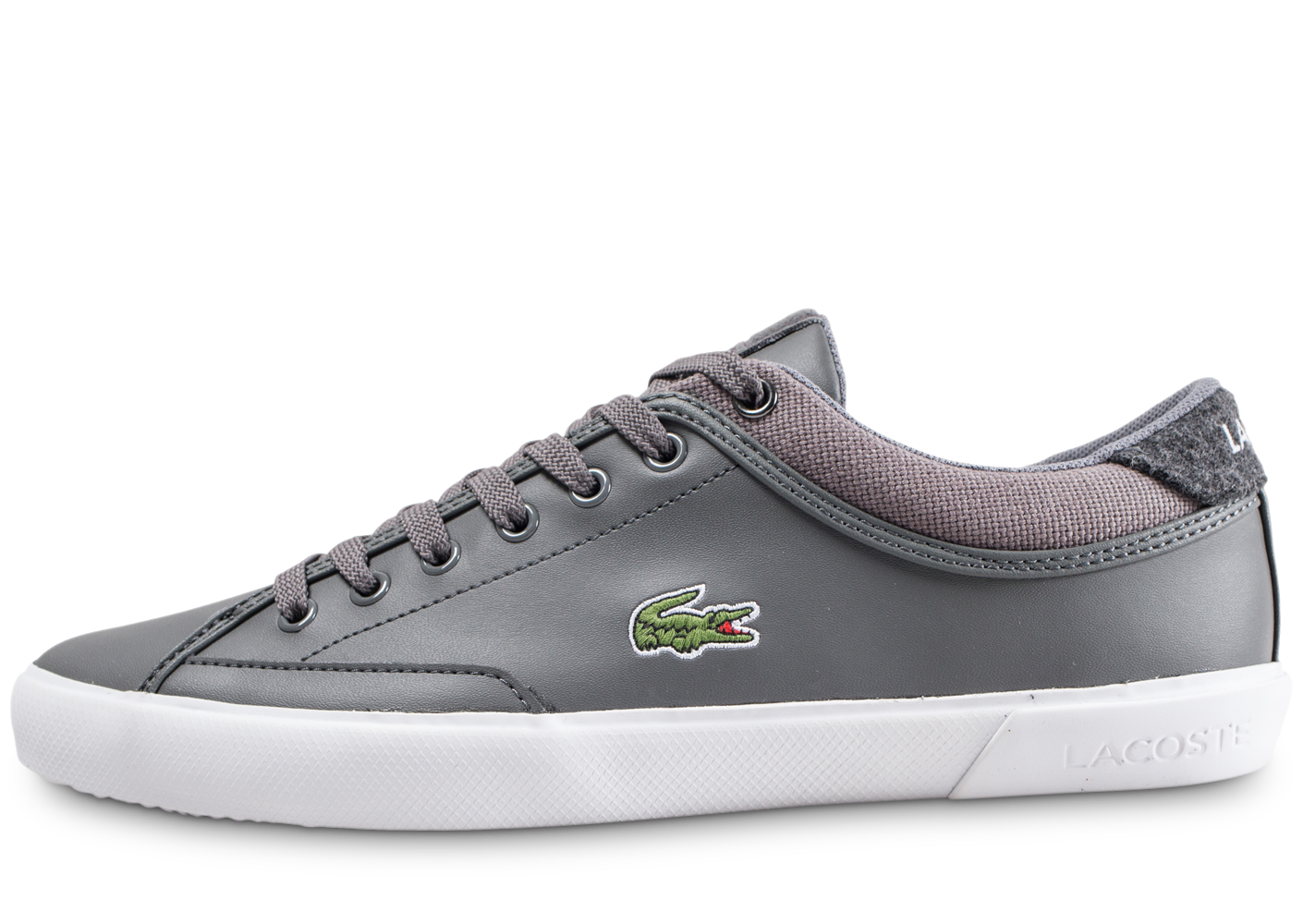 Lacoste Homme Angha Grise Baskets