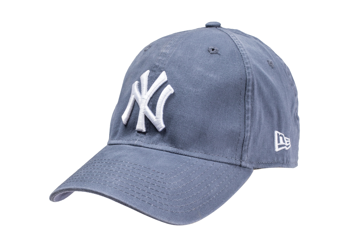 New Era Homme Casquette Washed Bleue