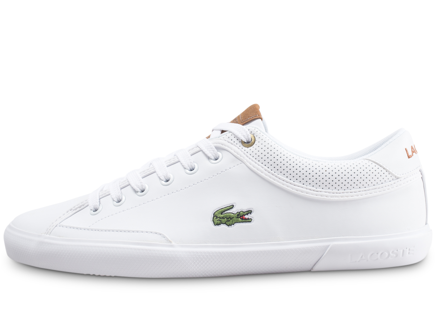 Lacoste Homme Angha Lea Blanche Tennis