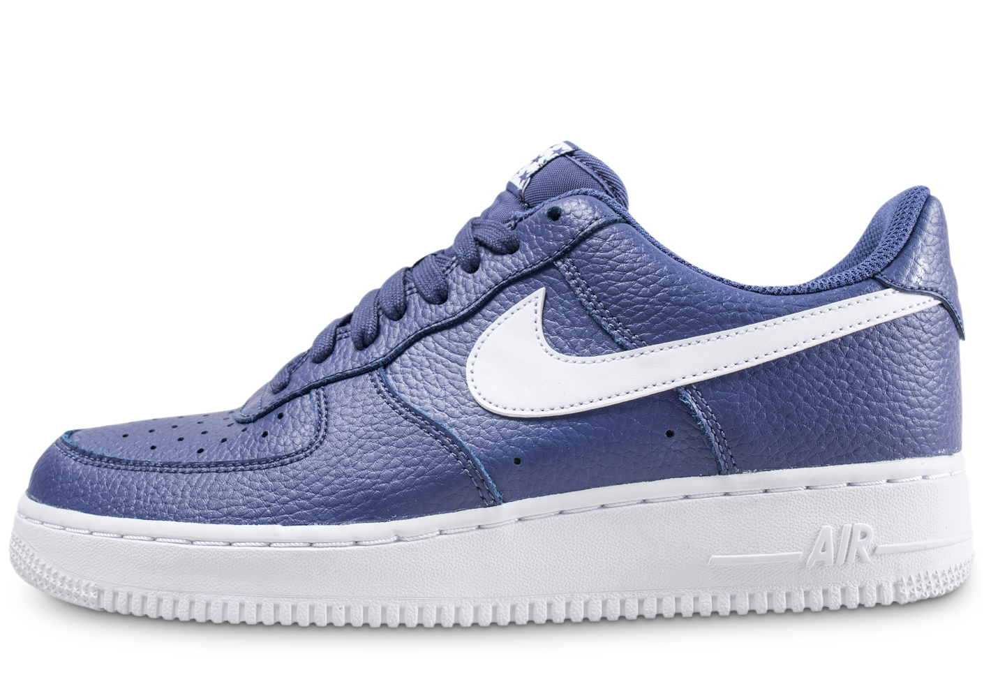 Nike Homme Air Force 1 Low Bleue Baskets