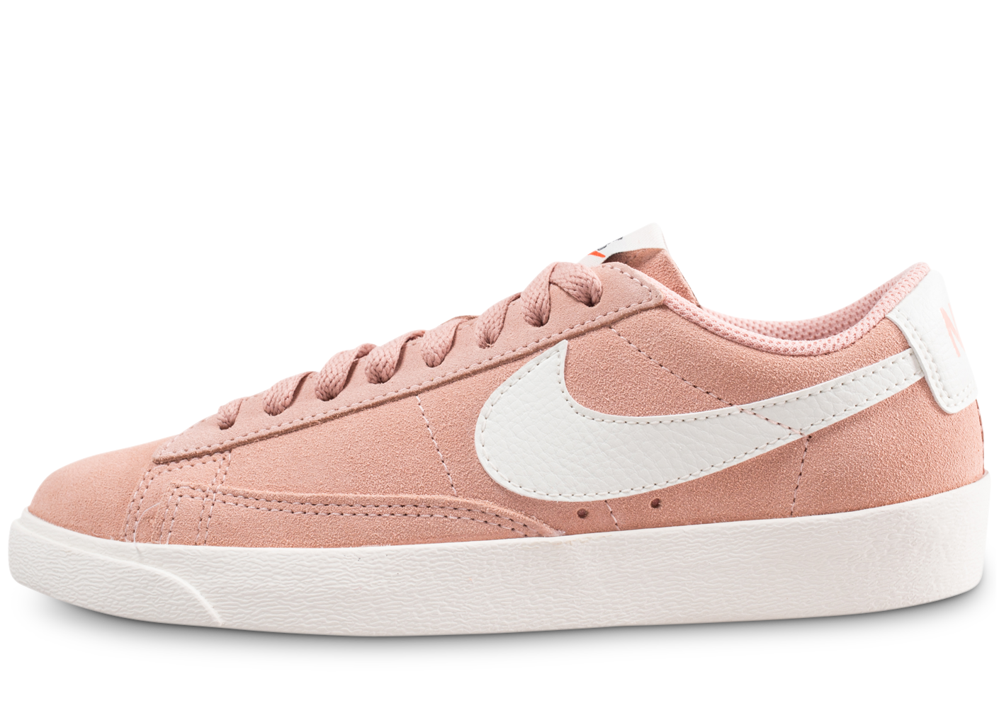 Nike Femme Blazer Low Rose Saumon Baskets