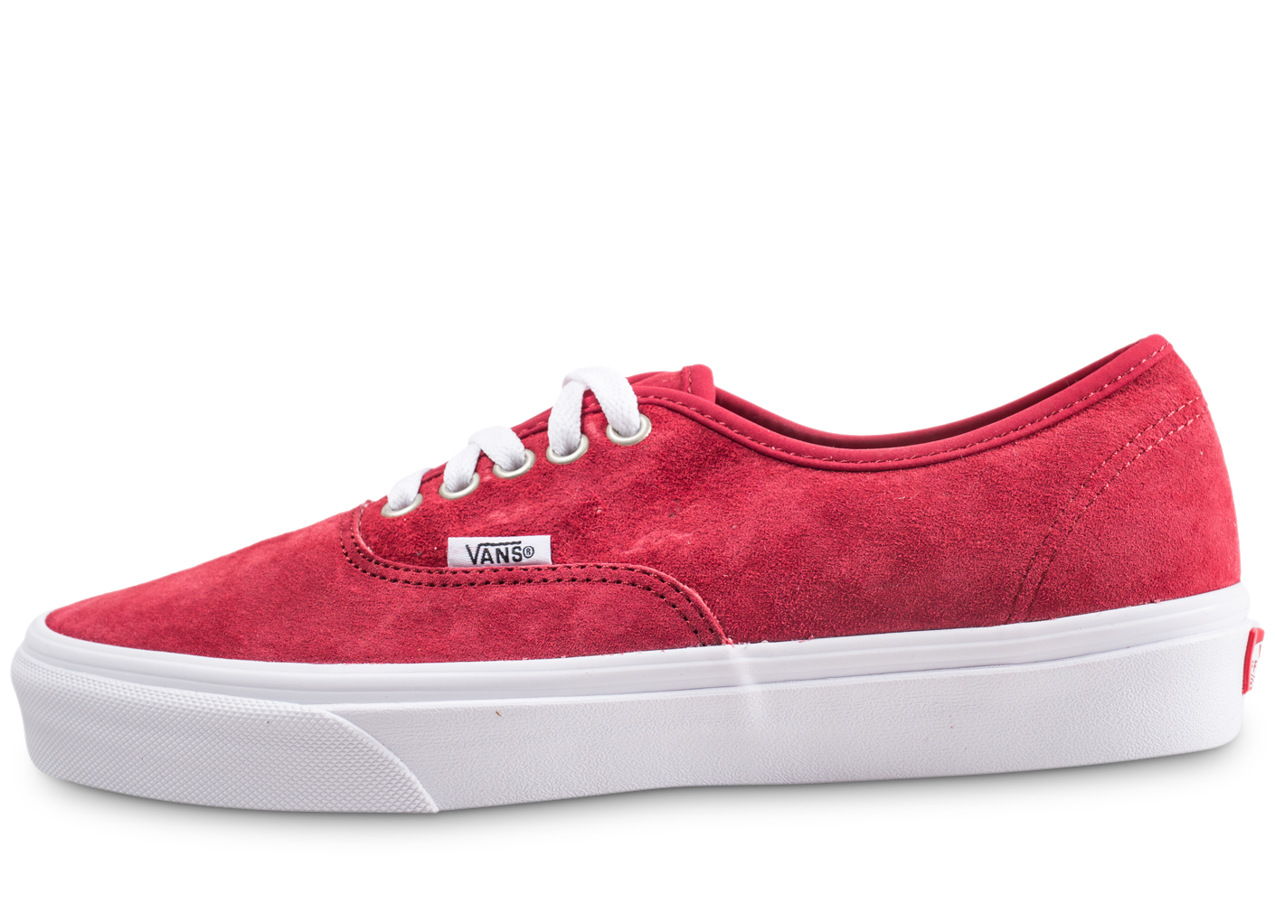 Vans authentic rouge femme baskets