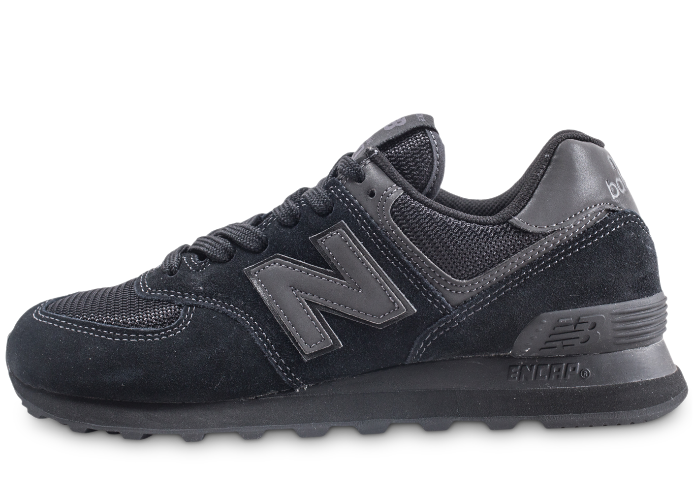 New Balance Homme Ml574 Noir Baskets