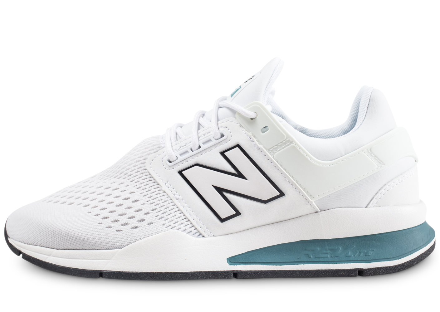 New Balance Homme Ms247tw Blanche Baskets