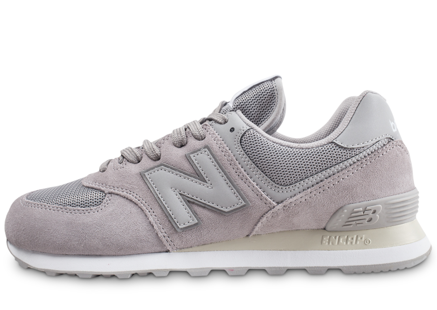 New Balance Homme Ml574etc Grise Baskets