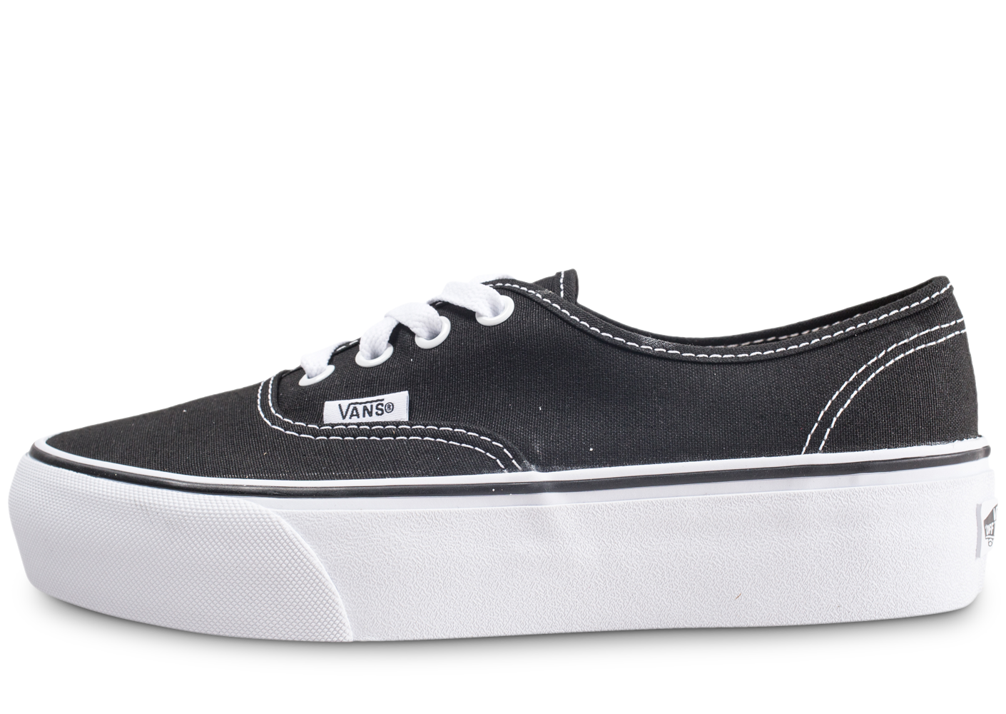 Vans Authentic Platform Noire Femme Baskets