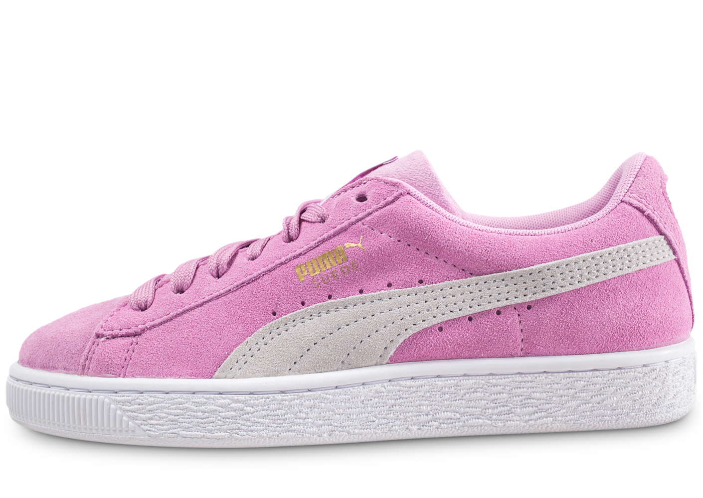 Puma enfant suede classic rose junior baskets