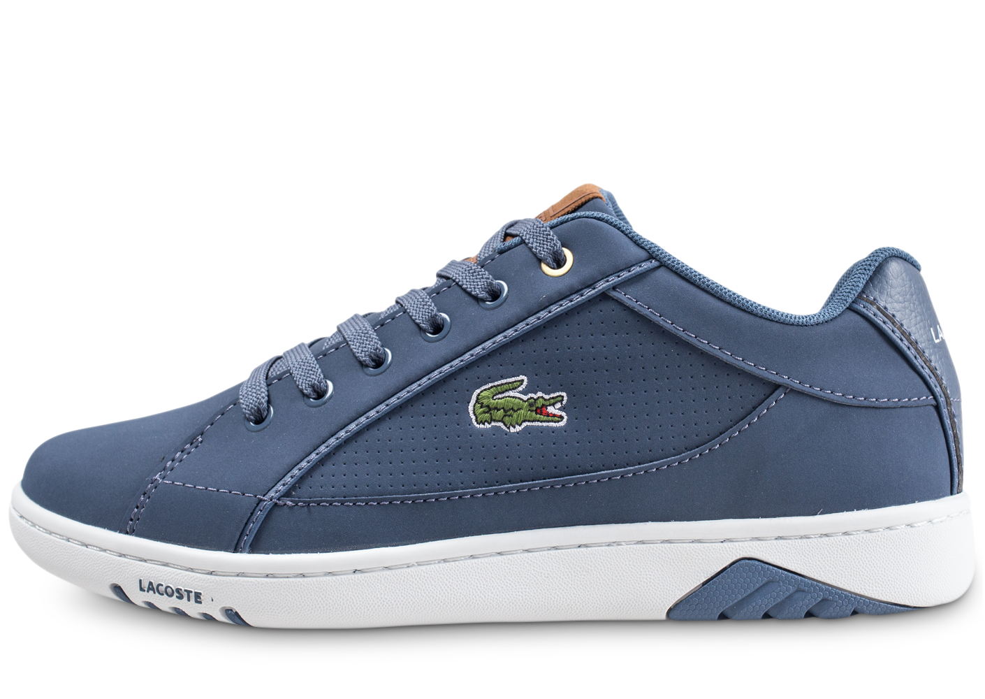 Lacoste Homme Deviation Micro Bleue Baskets