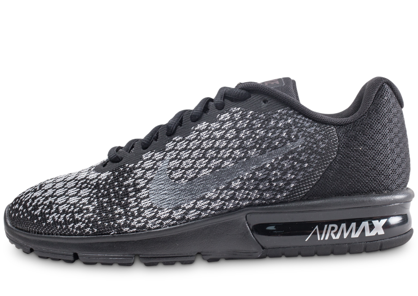Nike homme air max sequent 2 noire baskets