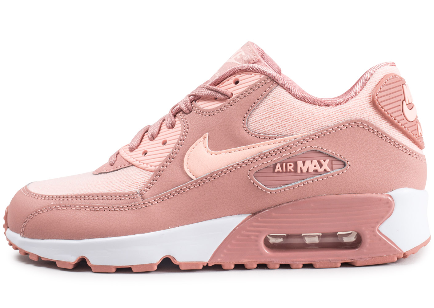 Air Max 90 Se Mesh Rose Junior