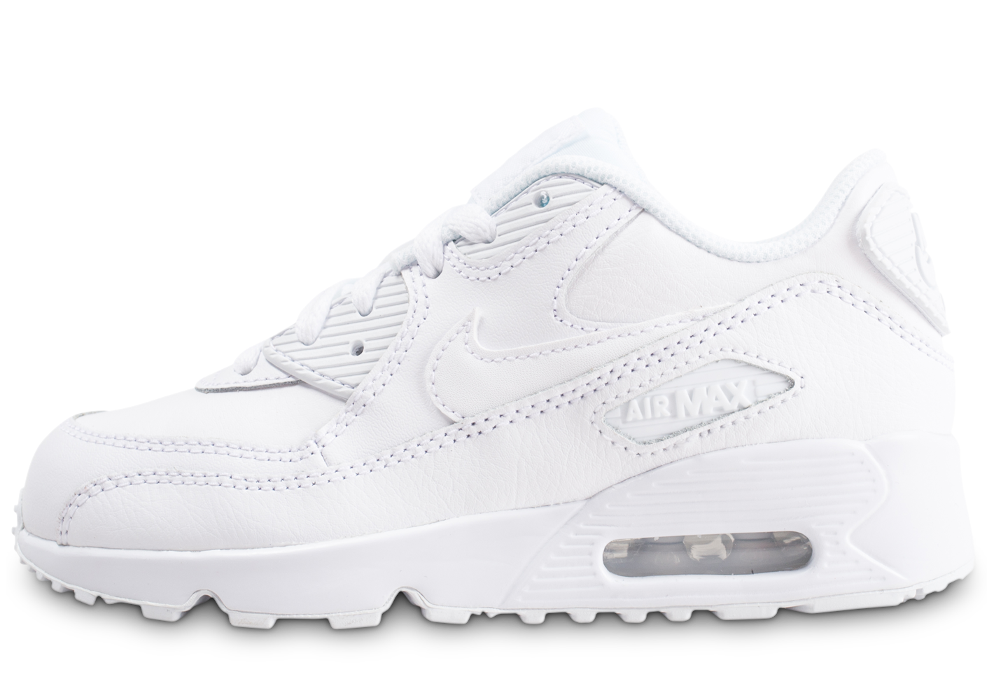 Nike Air Max 90 Leather Pre-school Enfant 32 Baskets