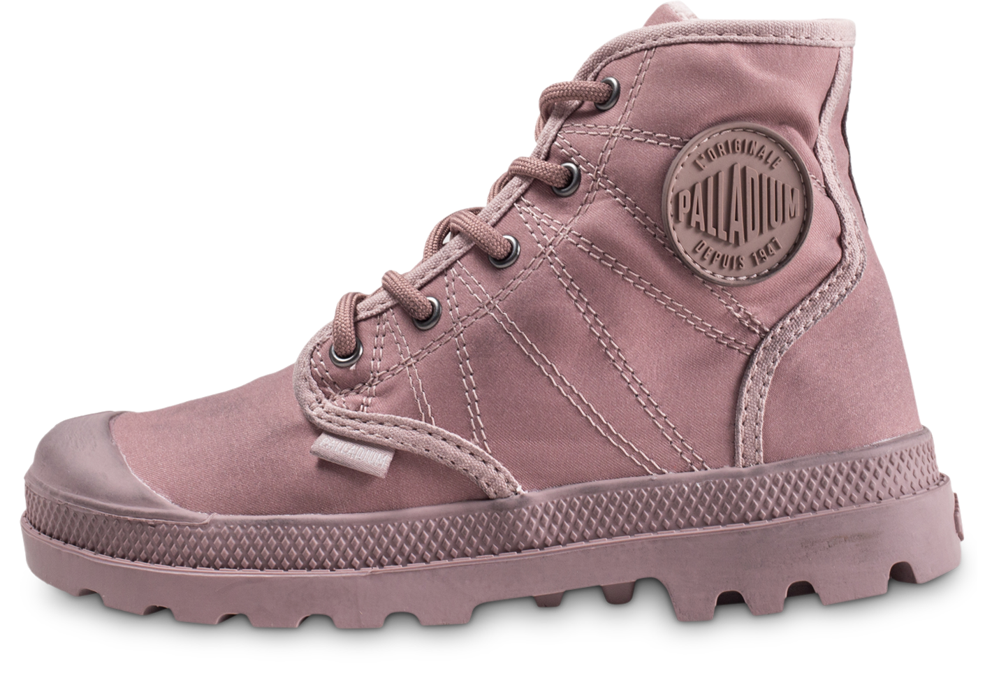 Palladium pampa hi rose enfant boots
