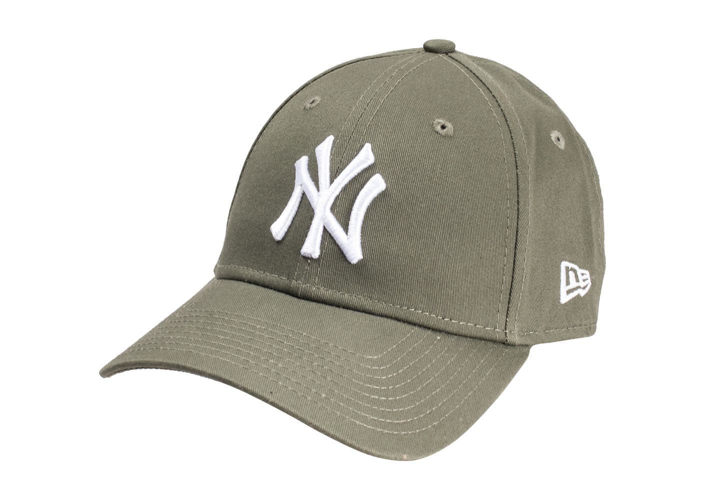 New Era Homme Casquette New York Yankees Essential 9forty Kaki